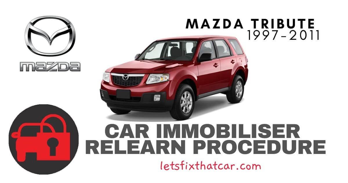 Key Programming Mazda Tribute 1997-2011