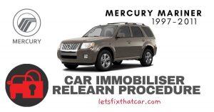 Key Programming Mercury Mariner 1997-2011