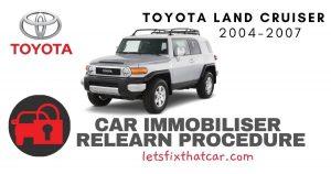 Key Programming Toyota Land Cruiser 2004-2007