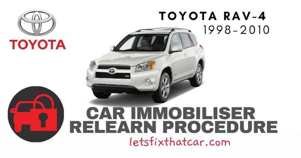 Key Programming Toyota RAV-4 1998-2010