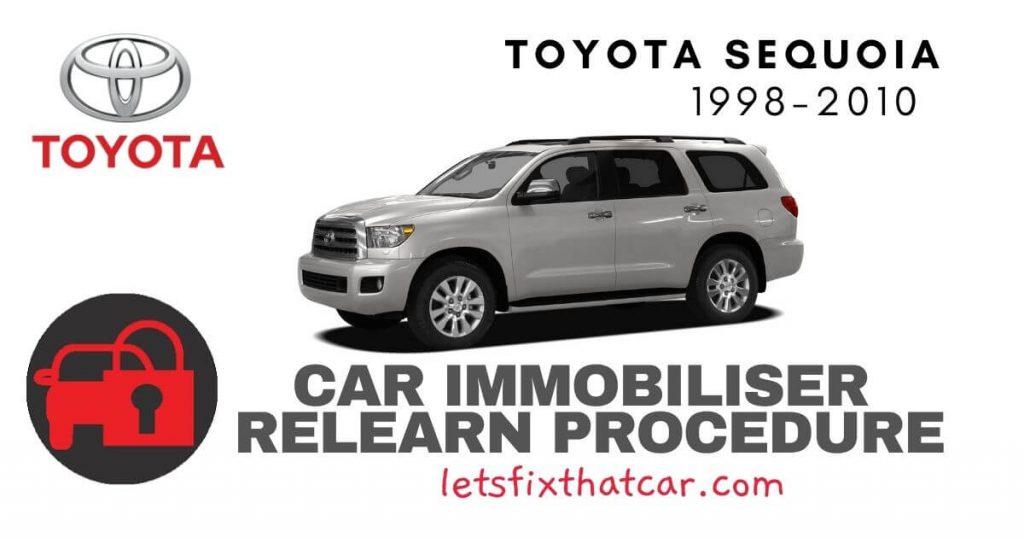 Key Programming Toyota Sequoia 1998-2010
