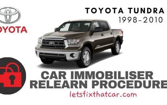 Key Programming Toyota Tundra 1998-2010